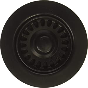 TGF-BL Disposal Flange with Stopper in Black