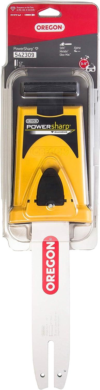 OREGON 542309-12-Inch Powersharp Bar Con Sacapuntas Para 44 Impulsión De Cadena De Acoplamiento