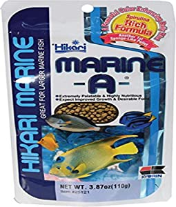 Hikari Marine Pellets for Pets, 3.87-Ounce