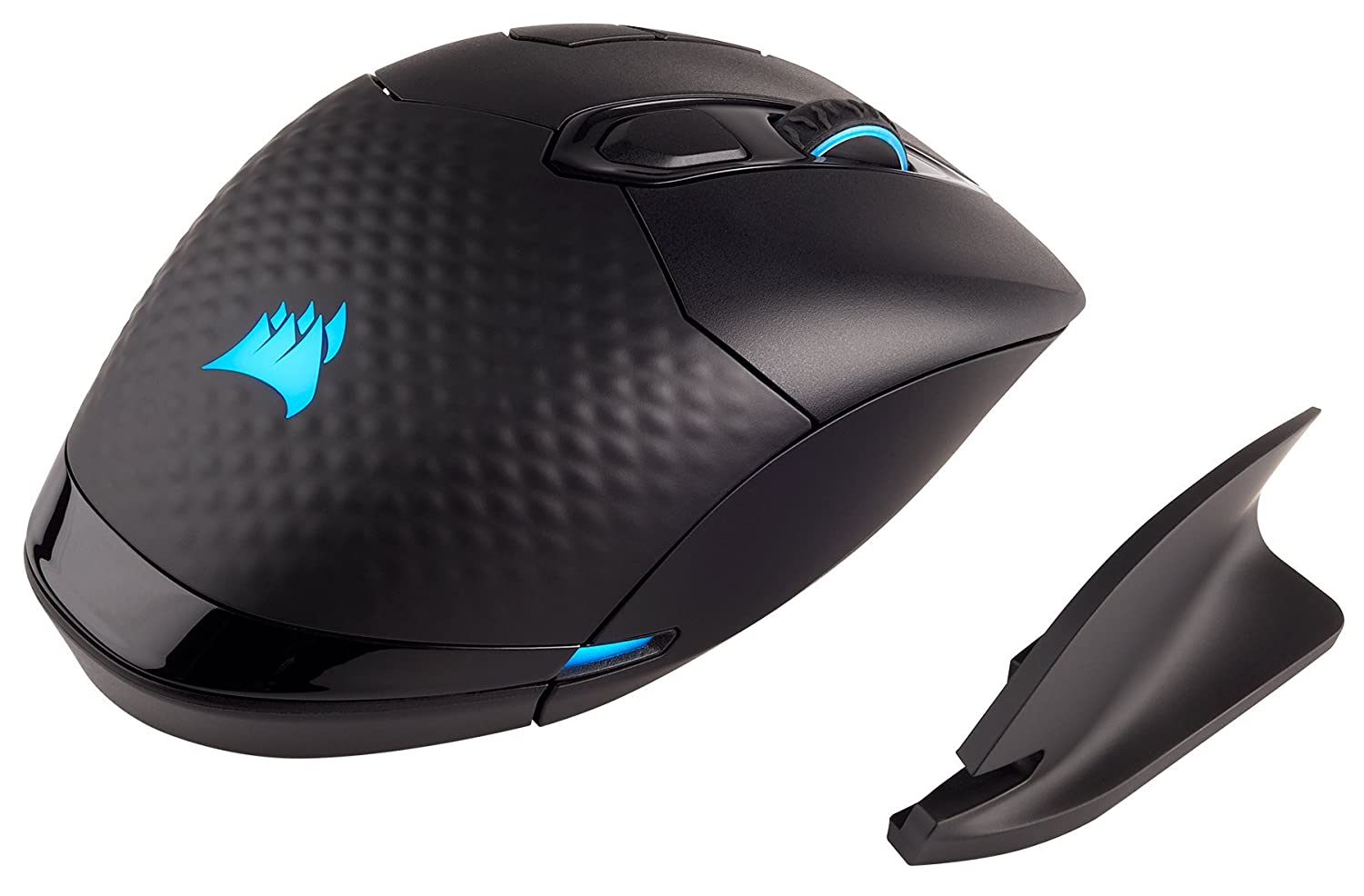 Corsair CH-9315211-NA Dark Core RGB Performance Wired/Wireless Gaming Mouse, Black