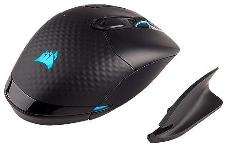 CORSAIR Dark Core - RGB Wireless Gaming Mouse - 16,000 DPI Optical Sensor -  Comfortable & Ergonomic - Play Wired or Wireless