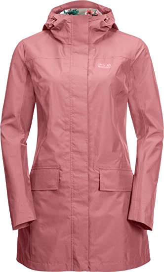 Details about Jack Wolfskin Cape York Coat Damen Regenmantel Weather Jacket Parka Rain New