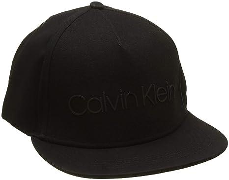 Calvin Klein Logo Patch Trucker M, Gorra de béisbol Hombre, Negro (Black 001), Talla única: Amazon.es: Ropa y accesorios