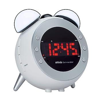 Silva Schneider UR 2500 Radio despertador con proyector de ...