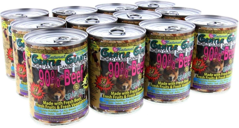 Análisis de la comida para perros Gentle Giants 14