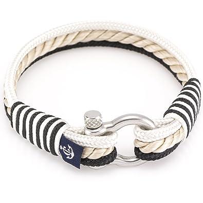 Maritime Bracelet CNB 51Fashion Jewellery Women's Men's Unisex Maritime Sailing Rope ADtoxw