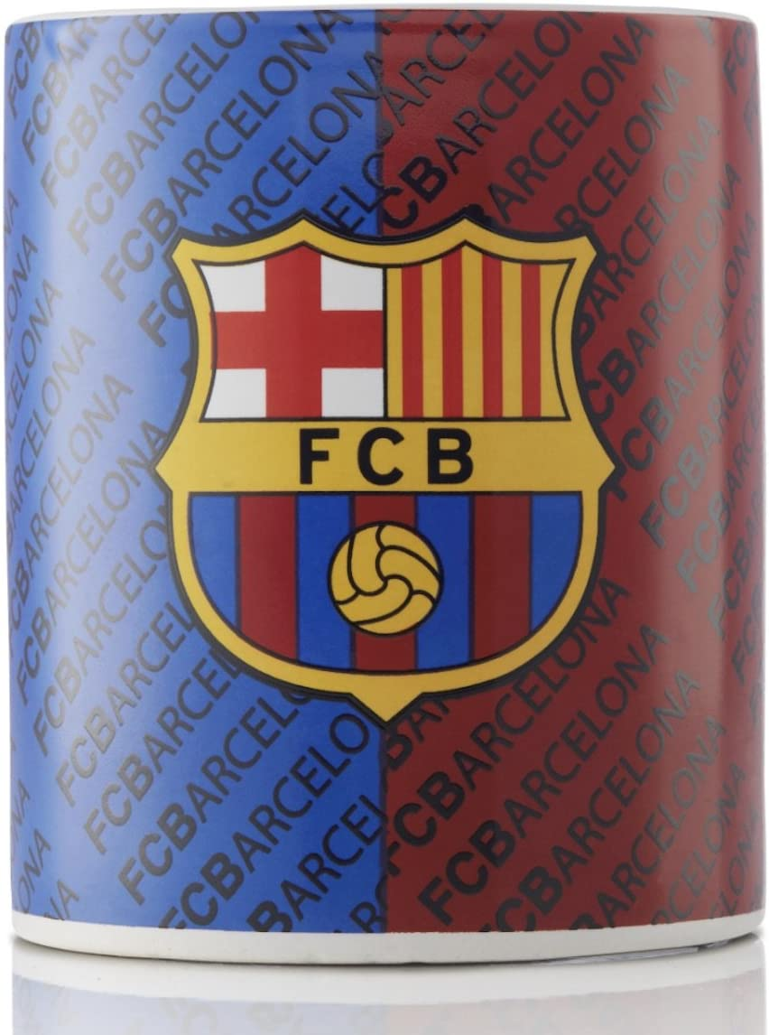 FC Barcelona Ceramic Coffee and Tea Mug - Great for all FC Barcelona Fans - Official Licensed Product