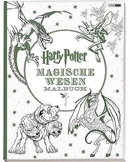 Harry Potter Magisches Malbuch Amazon De Bã Cher