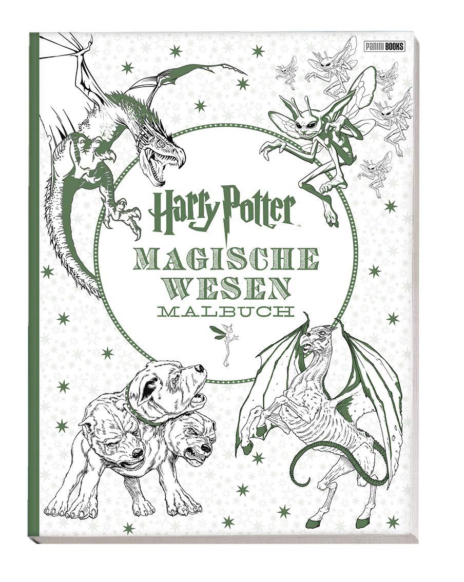 Harry Potter Magische Wesen Malbuch Amazon De Ba Cher