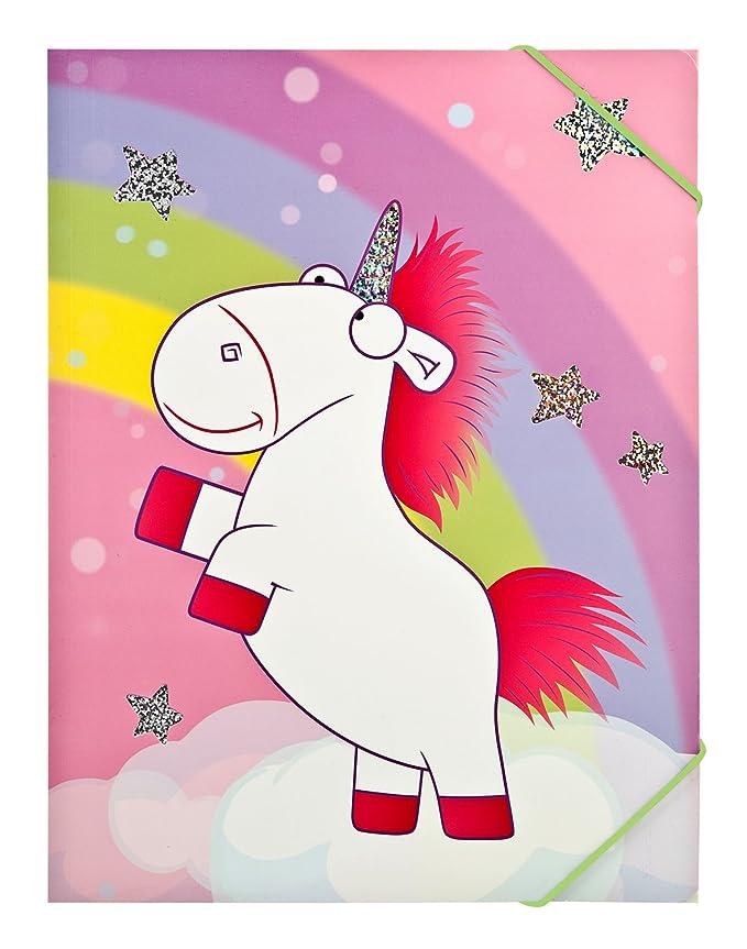 A3 Goldbuch Gummizugmappe Unicorn