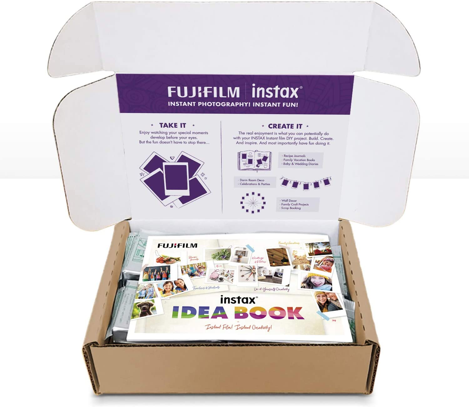 Amazon.com: Fujifilm Instax Mini Instant Film Value Pack ...