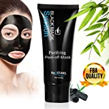 Peel-off Mask,Blackhead Remover Mud Face Mask, Suction Black Msk,Face Mask for Blackheads Remove,Tearing Style Deep... ¡­