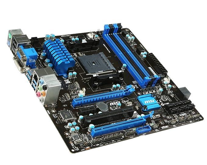 Amazon com: MSI FM2+, AMD A88X, SATA 6Gb/s, USB 3 0, 2 PCI-E