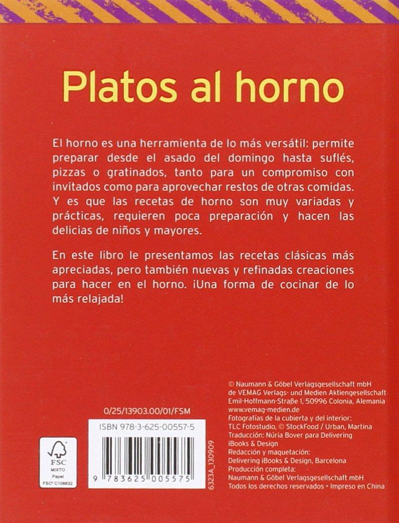 Platos al horno: Sencillos, prácticos, y deliciosos: Varios: 9783625005575: Amazon.com: Books
