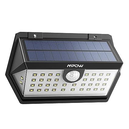 Nouvelle Génération] Mpow Lampe Solaire Extérieur 40 LED Spot