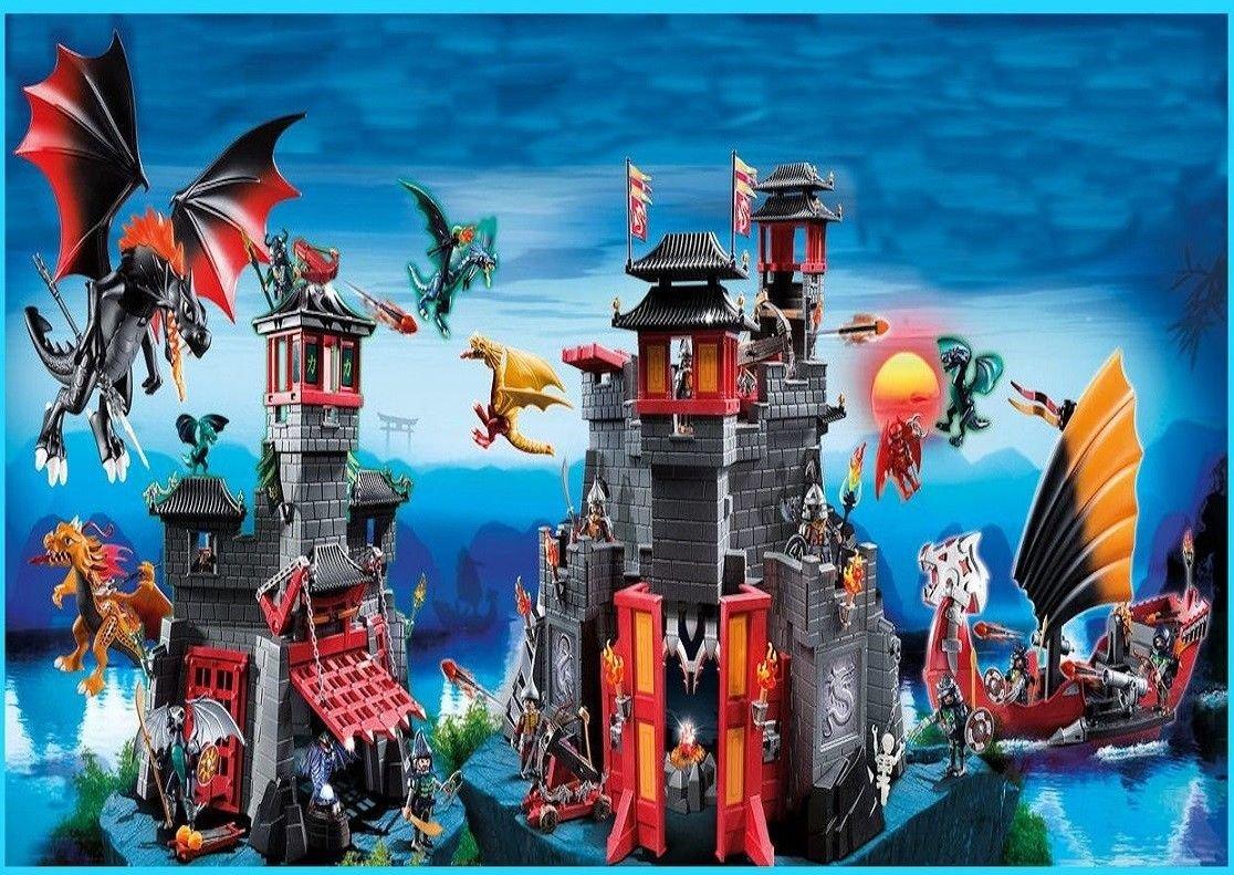 sdore Playmobil Dragones comestibles 1/4 hoja imagen ...