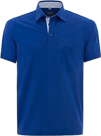 Eterna - Polo - Básico - Clásico - para hombre Azul azul marino ...