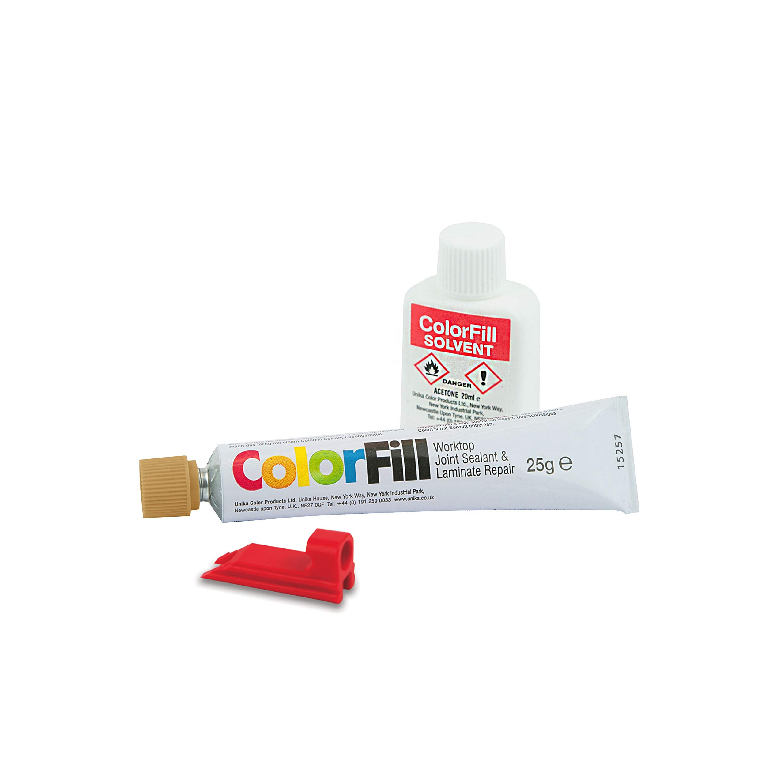 Unika ColourFill Worktop Jointing Sealer Laminate Repair Various Colour Solvent