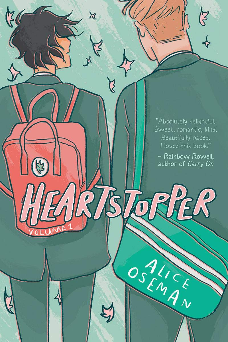 Amazon.com: Heartstopper: Volume 1 (1): 9781338617436: Oseman, Alice,  Oseman, Alice: Libros
