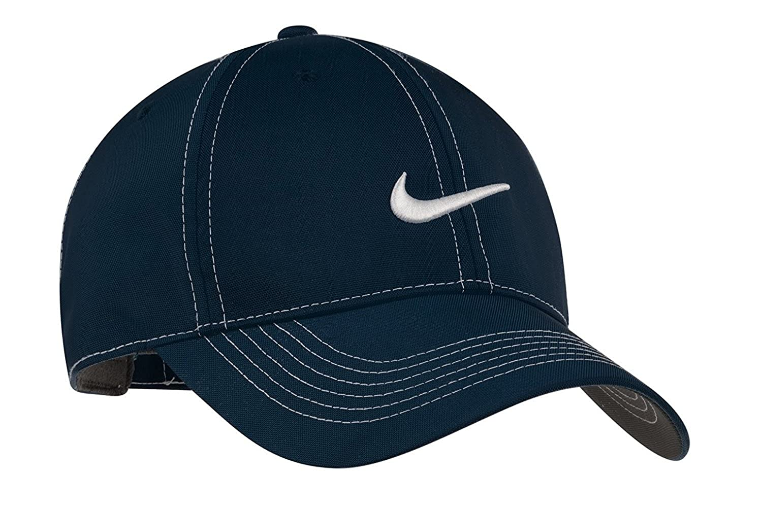 NIKE Original Contrast Stitching Water Resist Swoosh Embroidered Baseball Cap