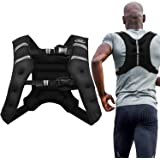 Aduro Sport Weighted Vest Workout Equipment, 4lbs/6lbs/12lbs/20lbs/25lbs/30lbs Body Weight Vest for Men, Women, Kids