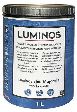 Luminos LUM1102 - BLEU MAJORELLE - Holz Lasur Farbe Blau Majorelle ...