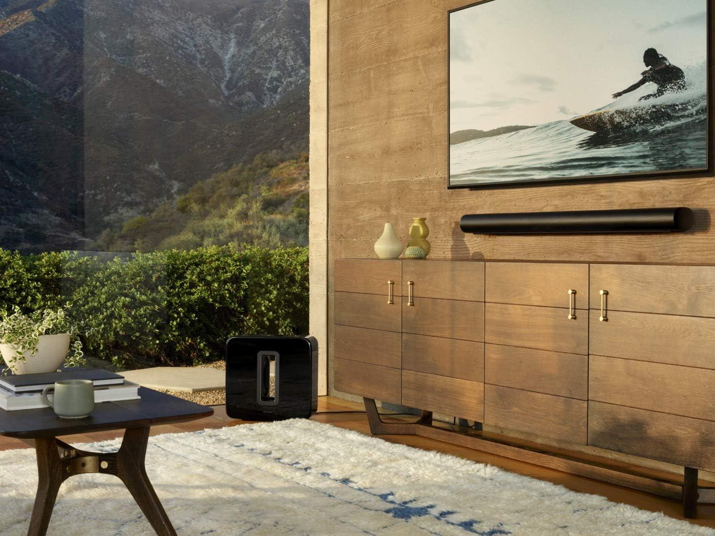 Sonos-Arc-Soundbar-Fernseher-Wohnzimmer