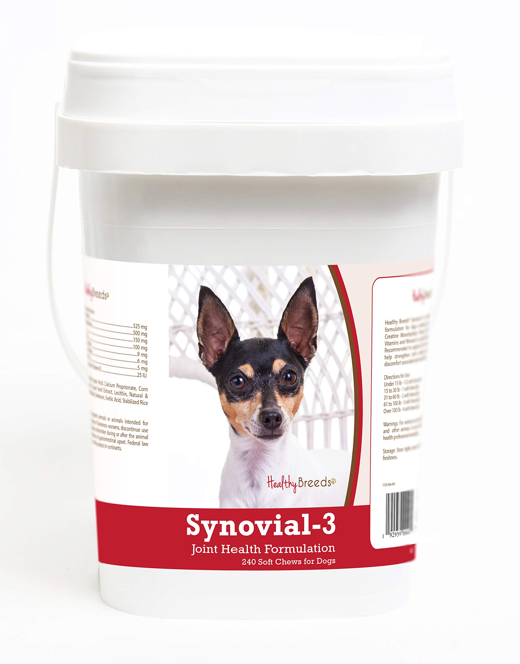 Healthy Breeds Toy Fox Terrier 240 Synovial-3 Joint Support