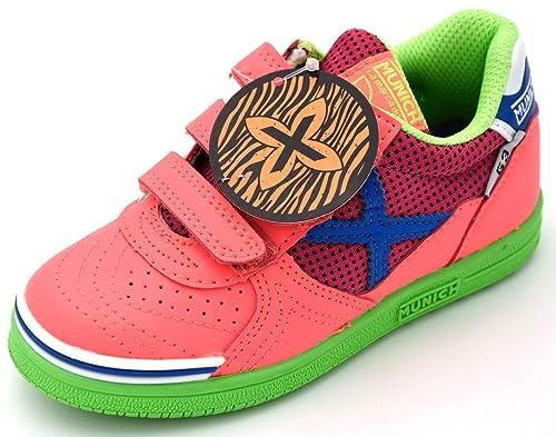 Munich Sport G-3 Shine - Zapatillas Niña Rosa Talla 27: Amazon.es: Zapatos y complementos