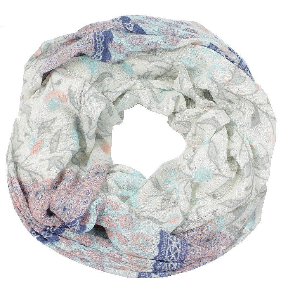 Designer Loop Schal Schlaufenschal mit Muster