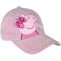 Cerdá Peppa Pig Niña Ajustable-53 cm-4 a 8 años Gorra de béisbol, Rosa, 53 cm para Niñas