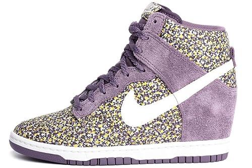 quality design 679d7 6fa8c Nike Womens Dunk Sky Hi Liberty Plum Sunlight 540859-500 9 Amazon.ca  Shoes  Handbags