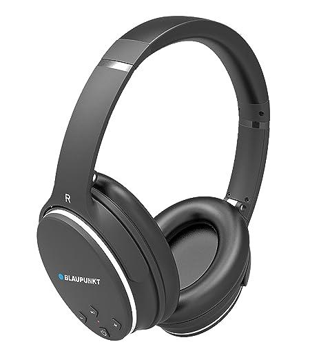 Blaupunkt BLP4400 - Auriculares Bluetooth Inalambricos de Diadema, Cancelación de Ruidos, 9 Horas de