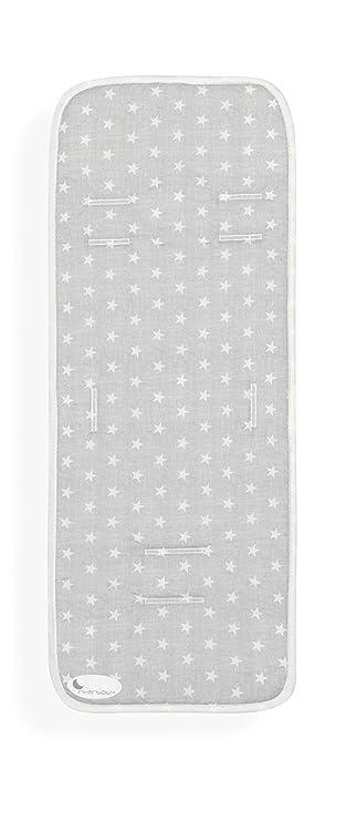 Colchoneta Ligera Silla Paseo Universal Transpirable M27 Gris