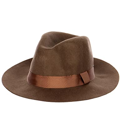 6f5e9ba312782 Image Unavailable. Image not available for. Color  Anytime Scarf Wool-Felt  Fedora Fashion Hat ...