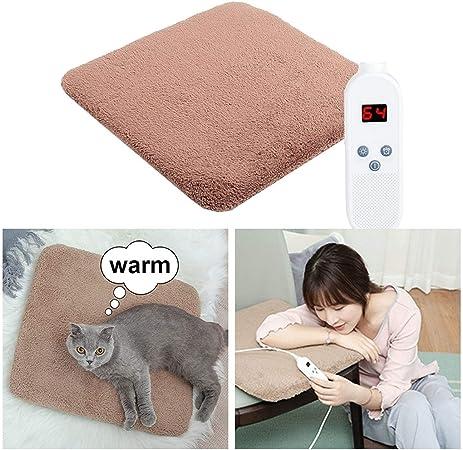 Nfudishpu Alfombrilla calefactora para Perros y Gatos, Manta ...
