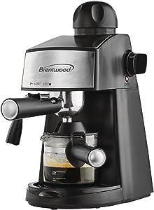 BrentwoodGA-125EspressoandCappuccinoMaker,Black