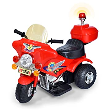 Elektro Kindermotorrad Dreirad mit Licht Akku Motorrad NEU Kinderfahrzeug