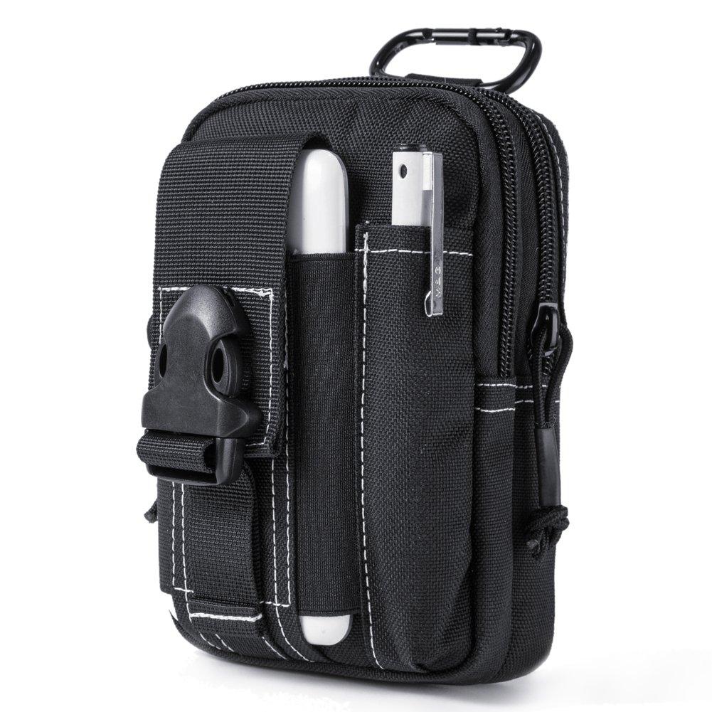 Onetigris Compact Molle Edc Pouch Utility Gadget Black Moko Exclusive Series Bb Cushion X Lip Creme Luggage Bags