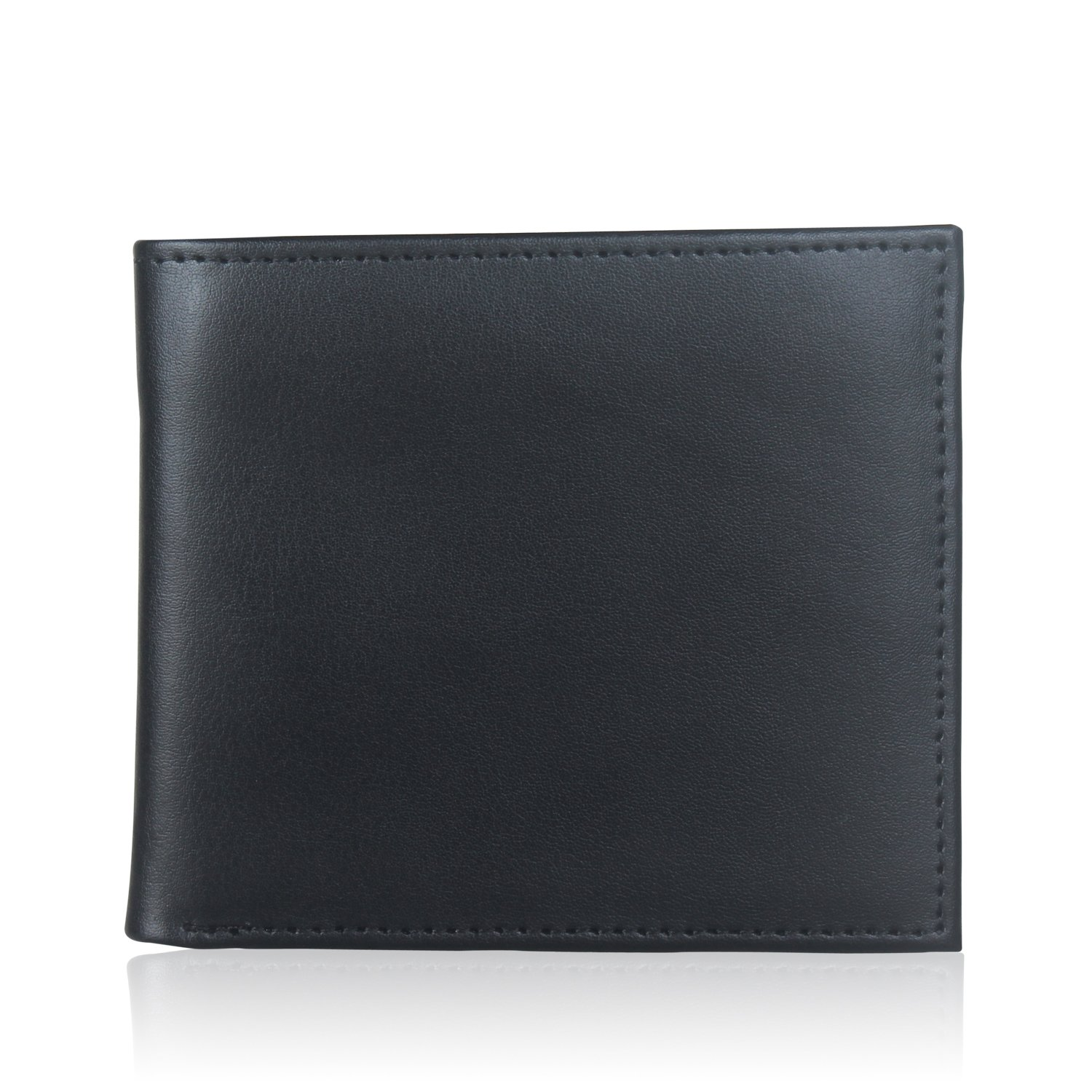 Genuine Leather Wallet with RFID Blocking Credit Card Protection For Men, Premium Travel Secure Trifold Wallets. Love It Your!