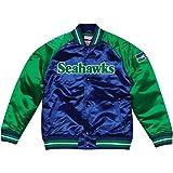 Mitchell   Ness Seattle Seahawks NFL Tough Season Premium Satin Jacket 54c4036af