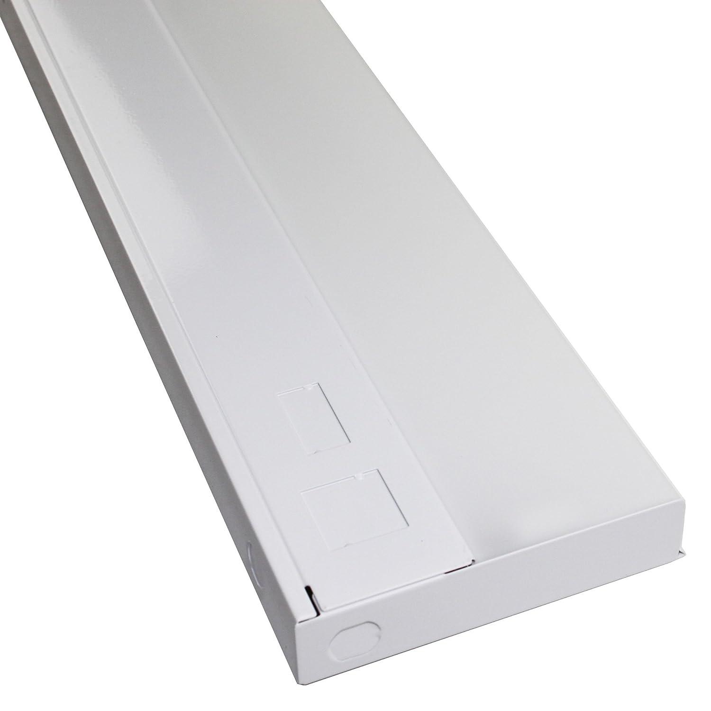 Crescent Lighting SLP121ES Low Profile Under Cabinet Light Fixture, SL SLP Series, SlimLyte, T5, 120V, 33-Inch
