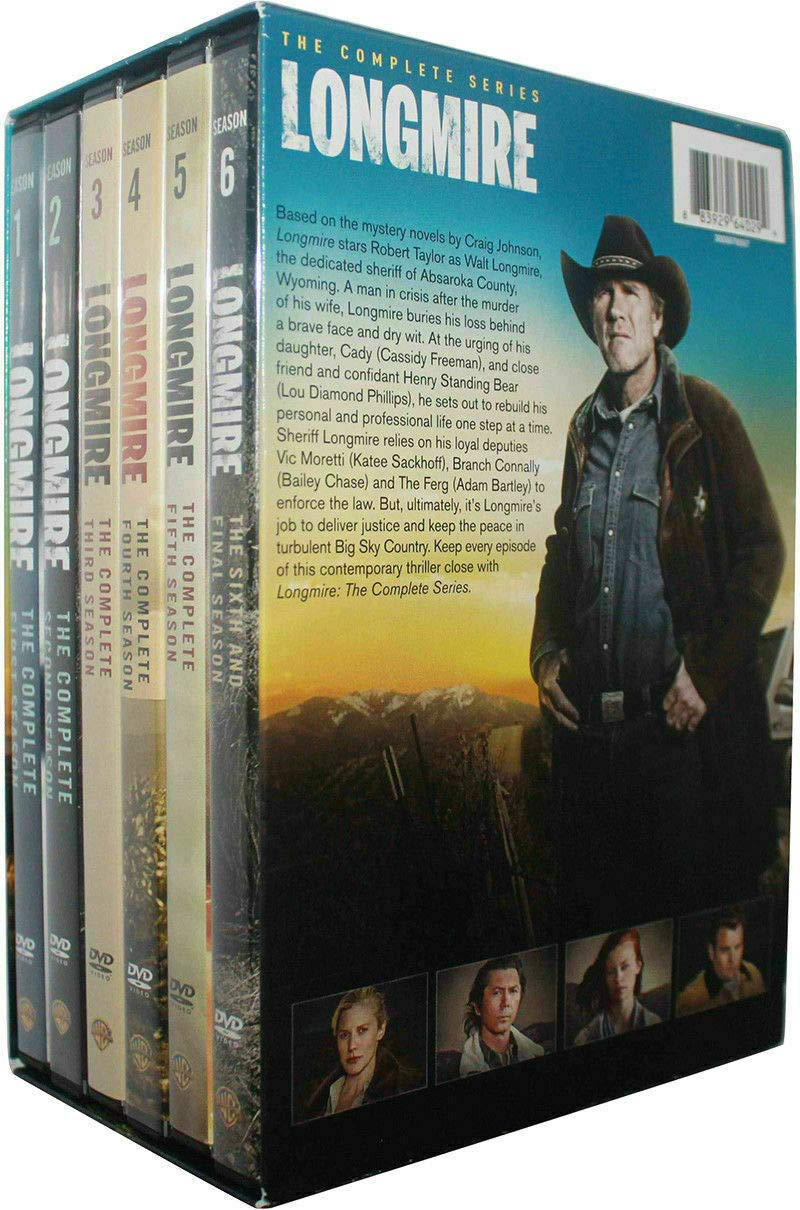 Longmire Seasons 1-6 DVD Complete Series by BN