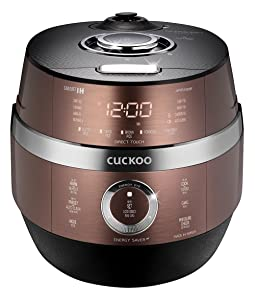 Cuckoo Electric Induction Heating Pressure Rice Cooker CRP-JHVR1009F (Brown)
