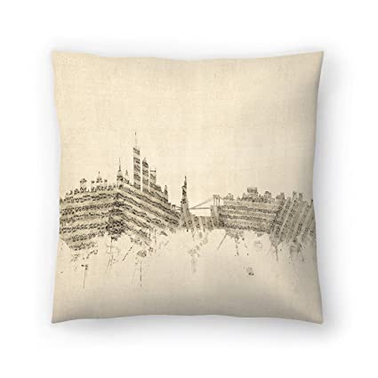 21a817b1dff Image Unavailable. Image not available for. Color  American Flat New York  Skyline Sheet Music Cityscape ...
