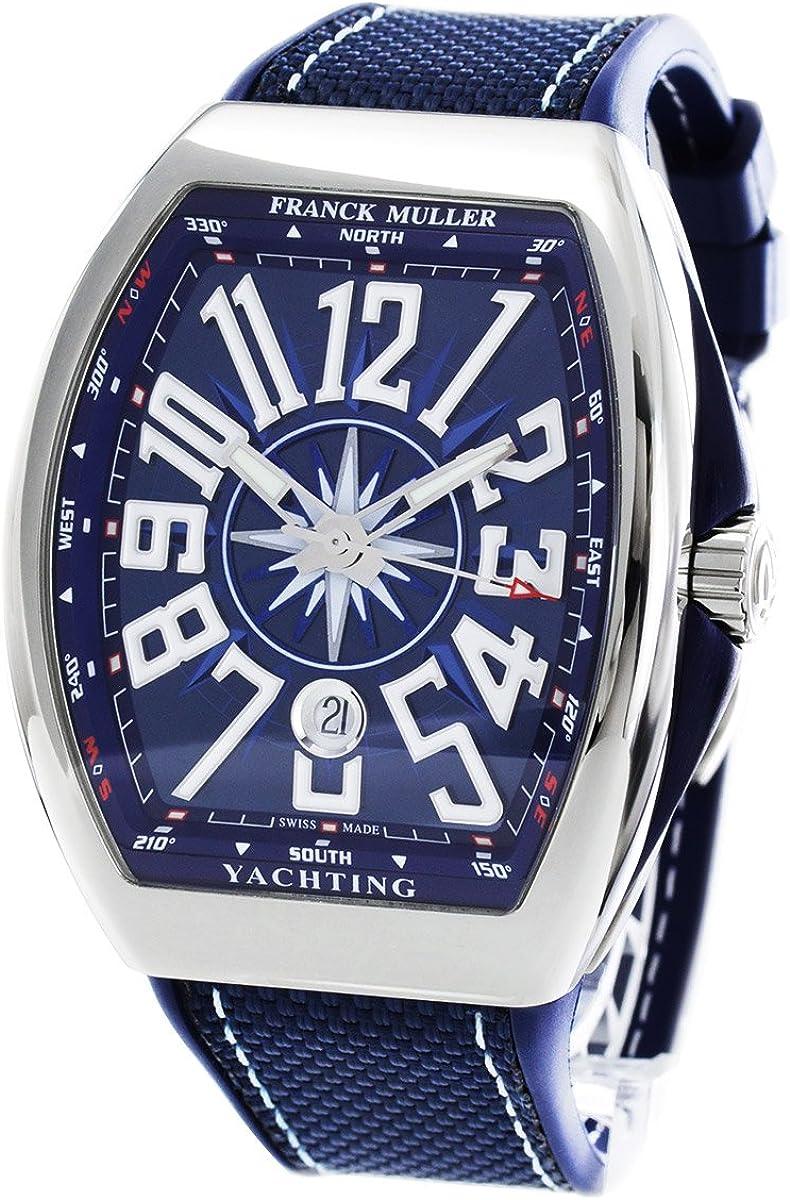 フランクミュラー ヴァンガード ヨッティング 腕時計 メンズ FRANCK MULLER V 45 SC DT YACHTING[FMV45SCYTSSBLRUBL]