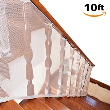 Baby Safety Rail Stairway Net Banister Stair Net For & Sale Price 10ft L X 2.5ft H