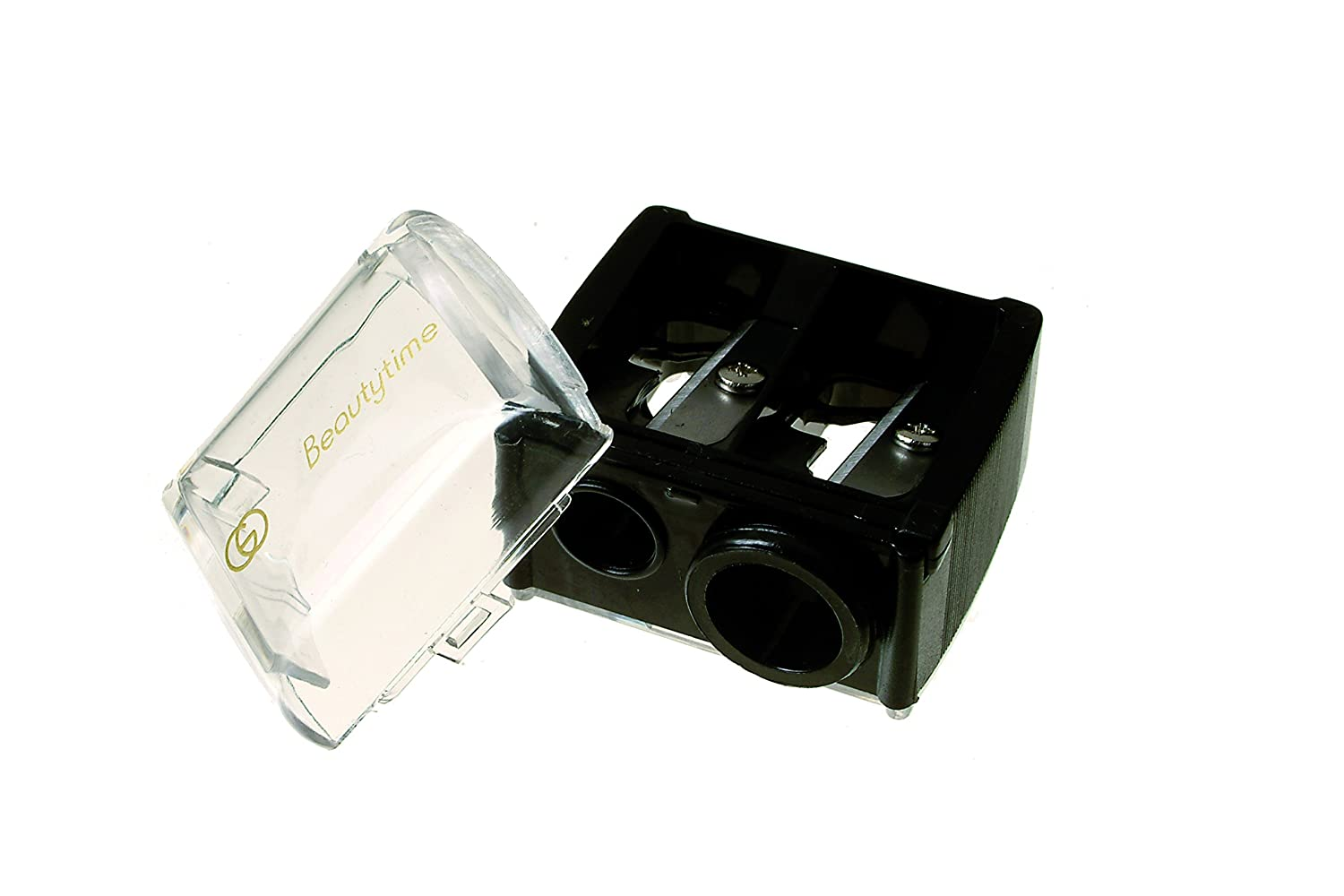 Beautytime Cosmetic Pencil Sharpener With catcher BT298