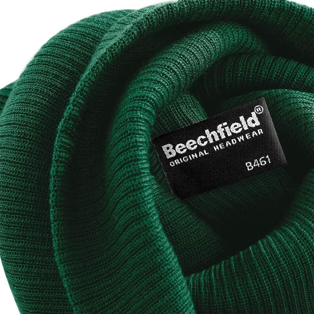 skateboard NEW mens /& ladies knitted snowboard Beechfield Slouch Beanie hat