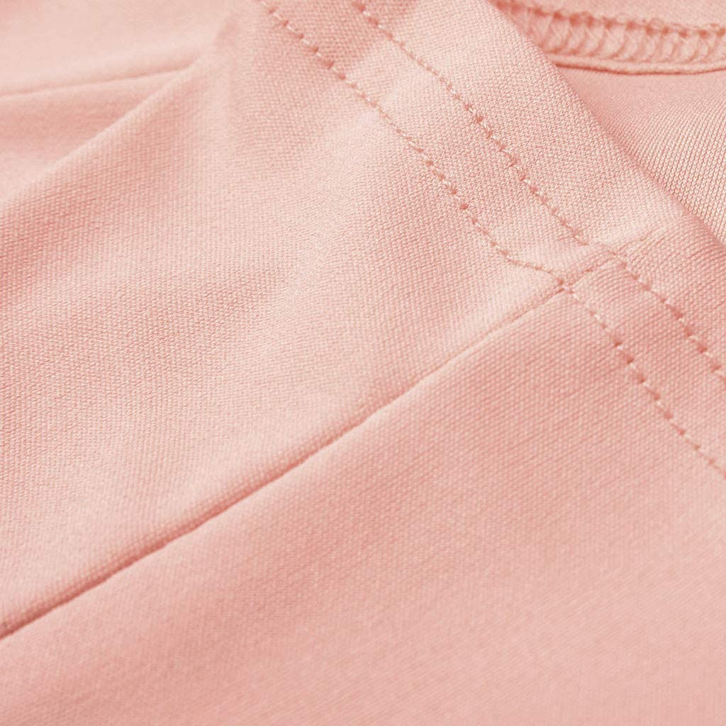 Womens Ladies Cardigan Solid Long Sleeve Pocket Coat Outerwear Trench Coat Jacket Pink